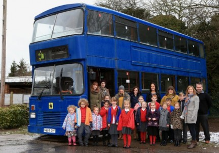 Cawston's Big Blue Bus