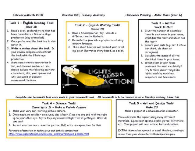 thumbnail of Alder Class T2b Homework Web Lights Camera Action