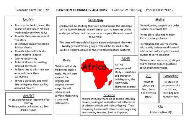 thumbnail of Poplar Class Topic Web Term 3b Africa