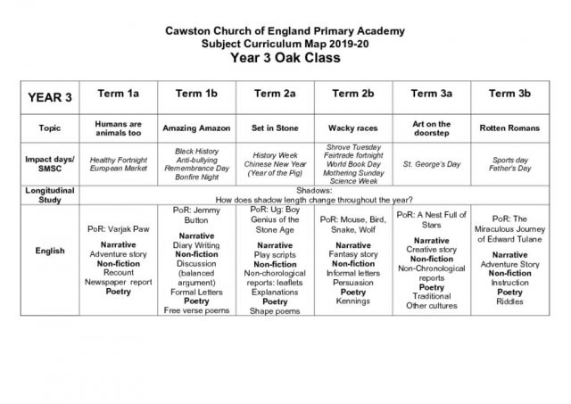thumbnail of Oak Class Y3 Long Term Plan 2019-20
