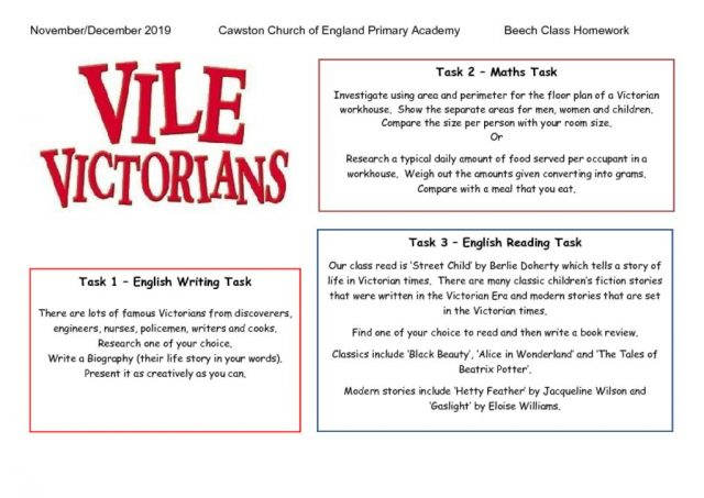 thumbnail of Beech CLass Term 1b Homework Web Victorians